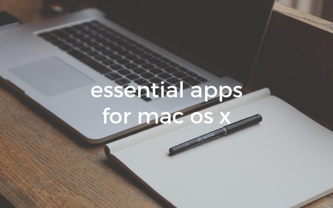 Free essential apps for macOS