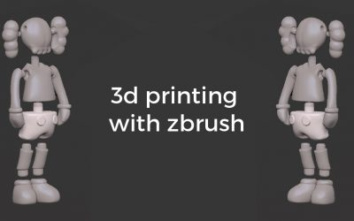 Design for 3D Printing with ZBrush